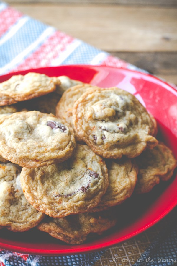 Spicy Chocolate Chips Cookies have a hint of heat to balance the sweet--your taste buds will thank you!