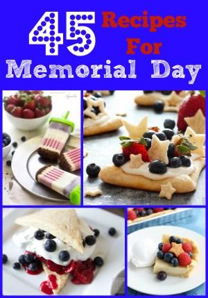 45 Recipes for Memorial Day