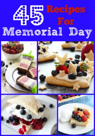 45 Recipes for Memorial Day celebrations - Poet in the Pantry