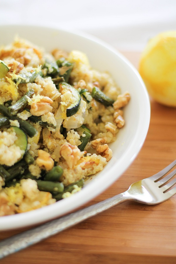 Roasted Summer Vegetable Quinoa Salad from The Roasted Root