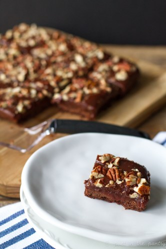 Salted Chocolate-Caramel Bars: Bake A Difference {sponsored post}