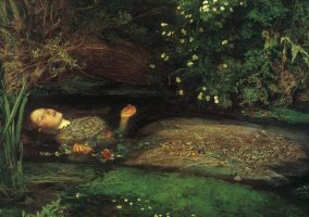 Millais' well-known Ophelia