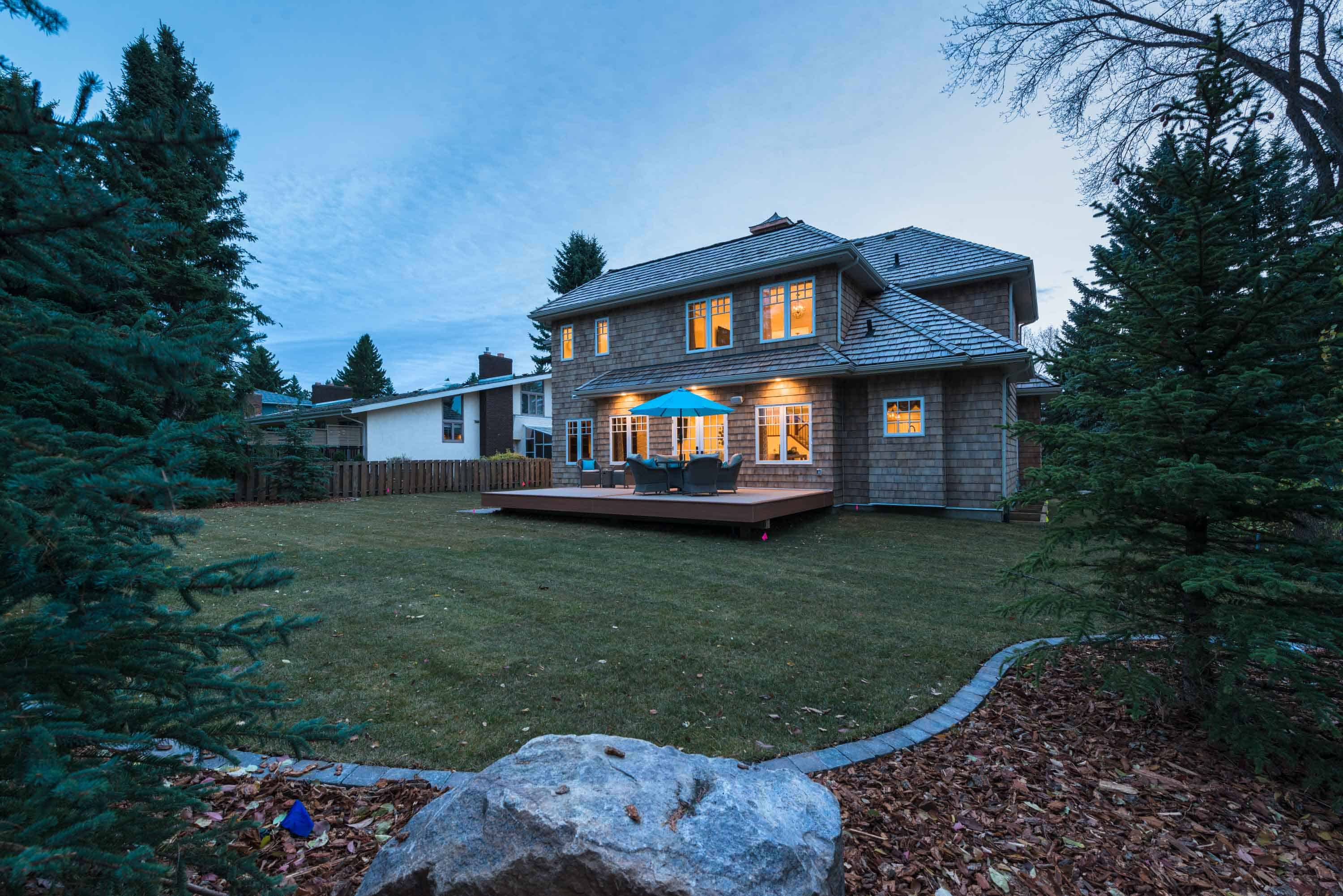 custom home builder edmonton