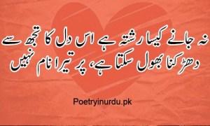 tow line romantic love poetry in urdu
