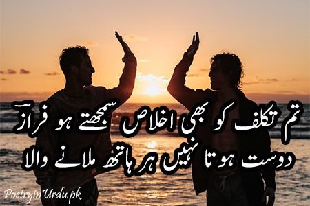 friendship poems urdu