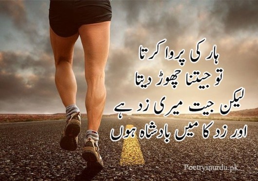 attitude poetry in urdu facebook