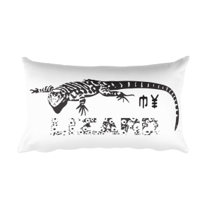 My Lizard Pillow