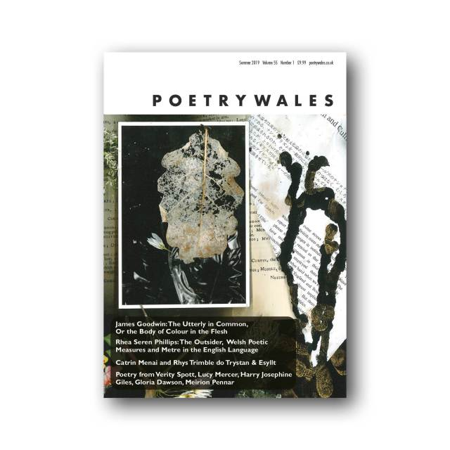 Poetry Wales 55.1 Cover