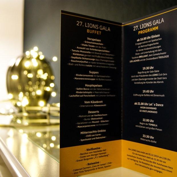 Gestaltung von Flyer, Broschüren und zugehöriges Social Media Management für den Lions Club Gera.
