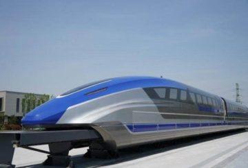 trenul chinez maglev