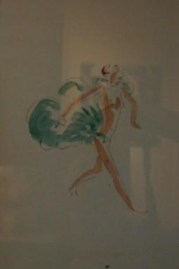 Painting of Josephine Baker