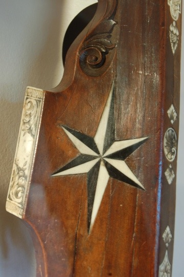 Artistic detail on weaponry