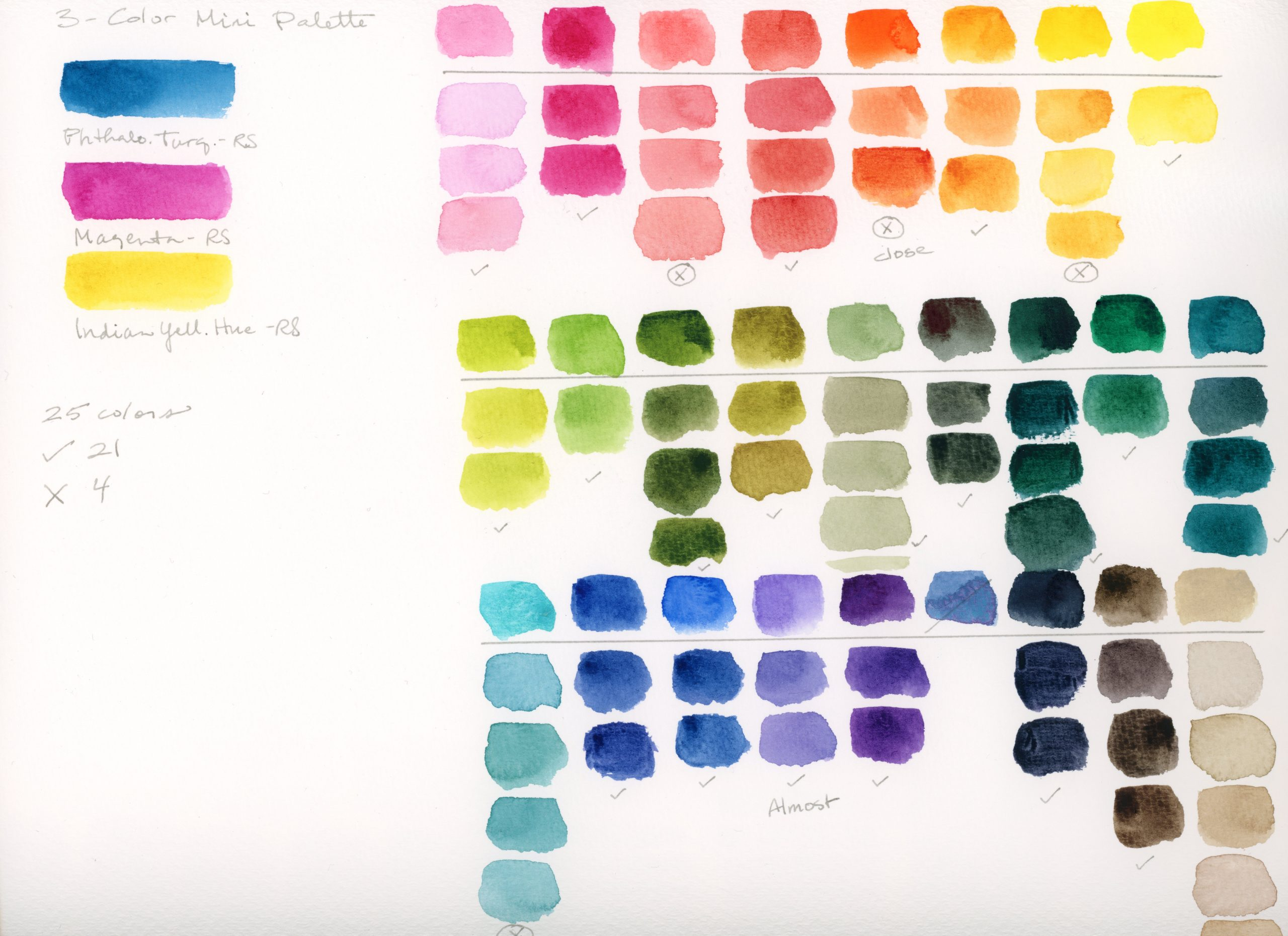 3-color palette color matching swatches V2