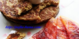 Pancakes cu portocale rosii