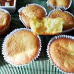 Cupcakes cuib cu ananas si crema de mascarpone