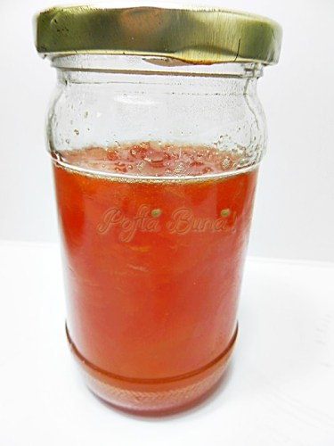 Dulceata de pepene galben sau rosu
