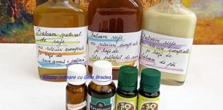 Balsam natural de rufe cu uleiuri esentiale