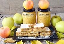Prajitura frageda cu mere si nuci, reteta veche