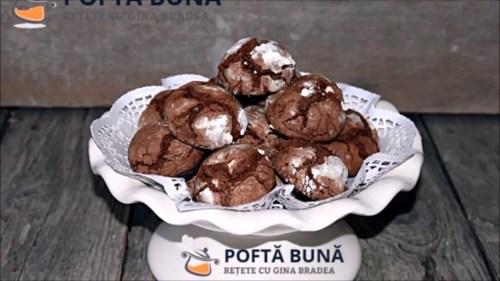 Fursecuri marmorate, crapaturi cu ciocolata, reteta simpla