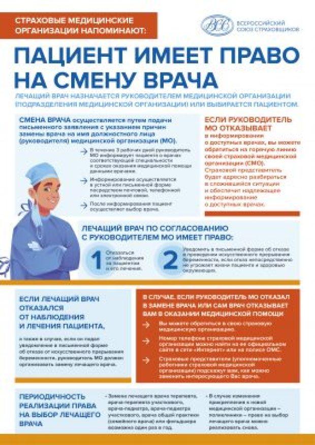 Знаете что - раз в год граждане имеют право сменить лечащего врача