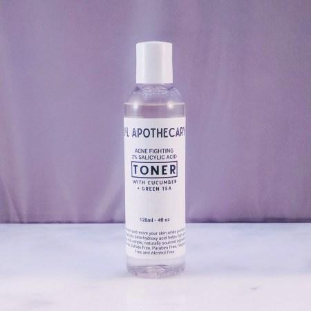alcohol free acne toner