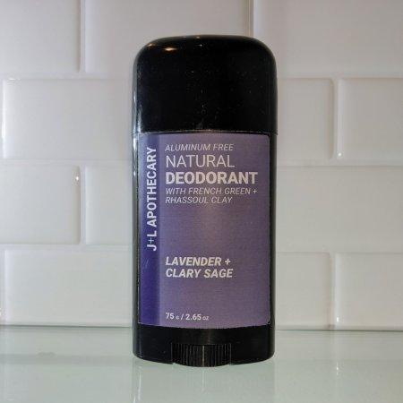 lavender clary sage natural deodorant stick