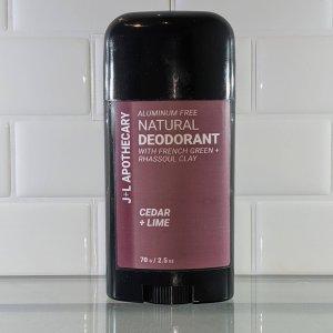 Natural Deodorant Cedar Lime