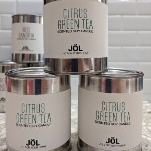 Citrus Green Tea Candle - Seasonal 2021