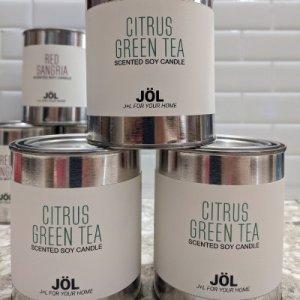 Citrus Green Tea Candle - Seasonal 2021