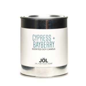 Cypress + Bayberry 1 Pint Paint Can Soy Candle