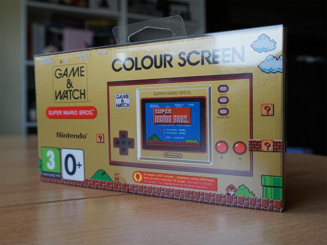 Game & Watch Super Mario Bros - pudełko