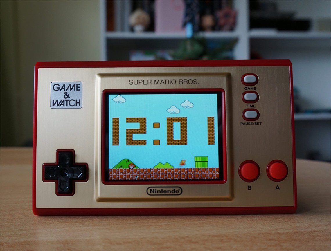 Game & Watch - zegar