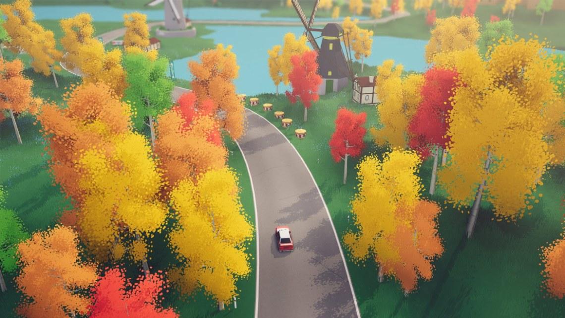 art of rally - piękna jesień