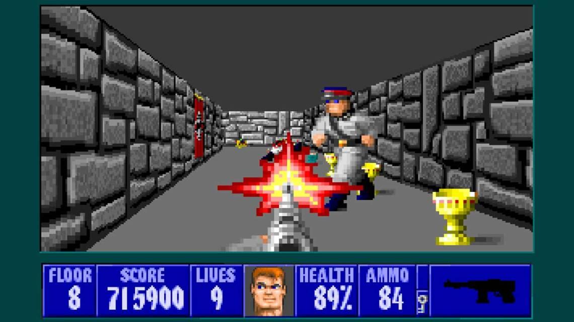 Wolfenstein 3D retro gra