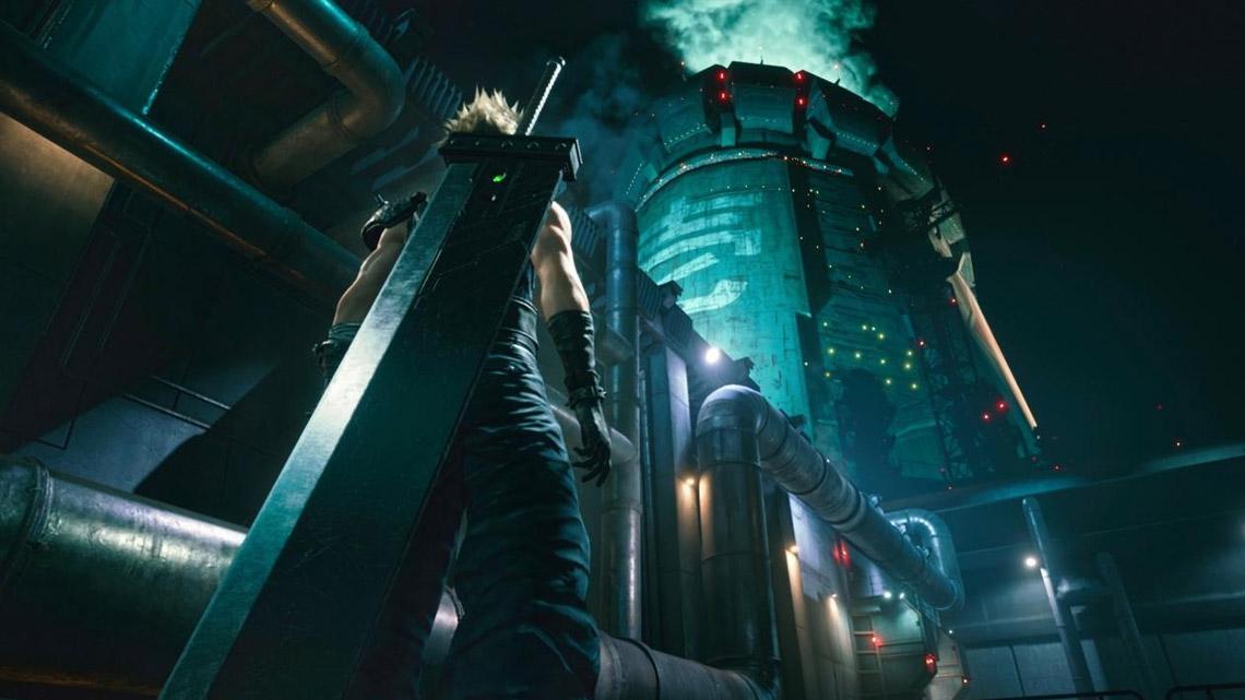 Final Fantasy VII Remake Intergrade - Mako Reactor