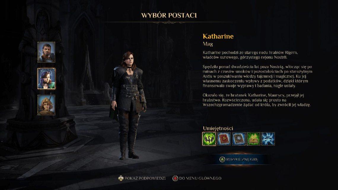 King's Bounty II- Wybór bohatera