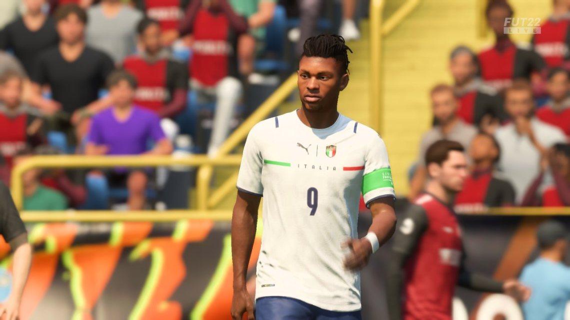 Fifa 22 - Zbliżenie na piłkarza