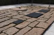 The whole gravesite