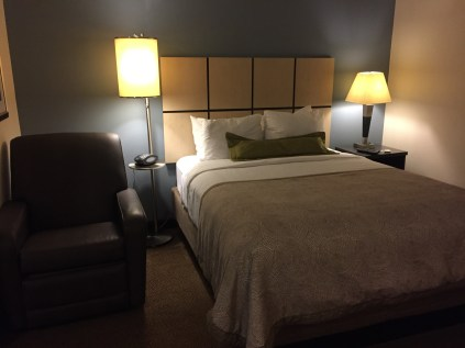 A huge bed