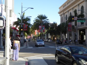 The other way down Rodeo Drive