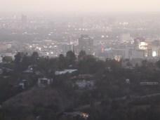 LA to the west