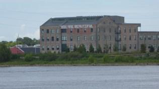 long shot of the warehouse