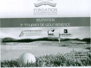 invitation golf
