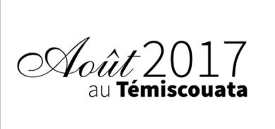 Le calendrier des activités du mois d'août au Témiscouata est arrivé!