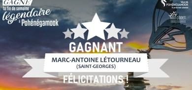 SUCCÈS MONSTRE POUR LA CAMPAGNE «GAGNE TA FIN DE SEMAINE LÉGENDAIRE À POHÉNÉGAMOOK»