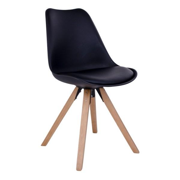 Bergen tuoli musta