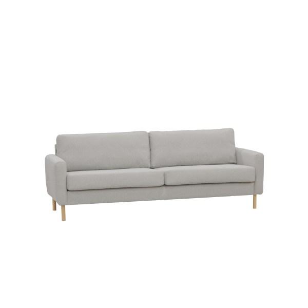 Frost sohva 227 cm vaaleanharmaa