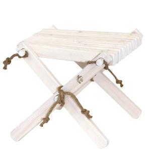 EcoFurn Lilli pöytä-rahi valkoinen mänty