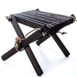 EcoFurn Lilli pöytä-rahi musta mänty