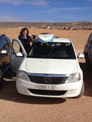 Pronájem auta v Maroku